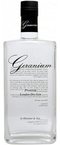 Geranium, Gin, Premium, London, Dry, Spiritus, Drinks
