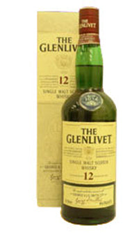 Glenlivet Speyside single malt whisky