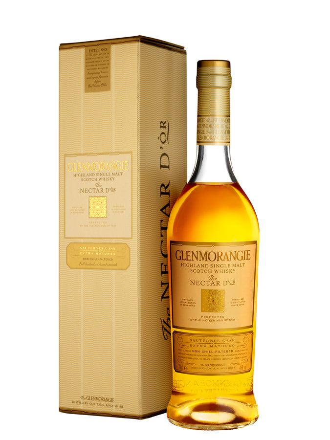 Glenmorangie Sauternes wood highland malt whisky