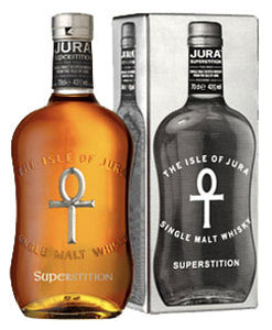 Isle of Jura Superstition Malt Whisky Skotland