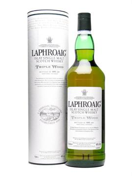 laphroaig, triple wood, islay malt, scotch whisky