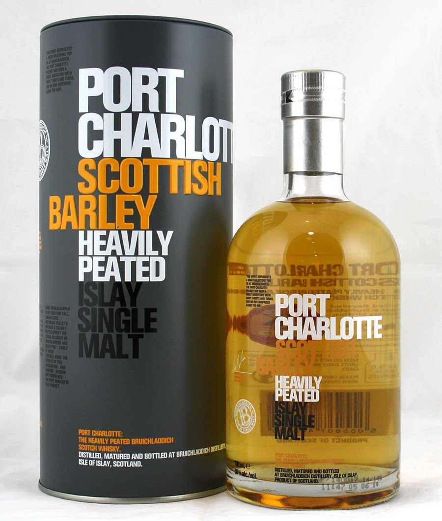 port charlotte peated islay single malt spiritus