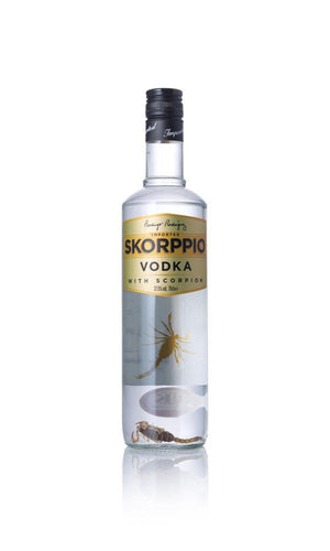Skorppio, Vodka, Skorpion, Fest, Gave, Spiritus, Drinks, Cocktails