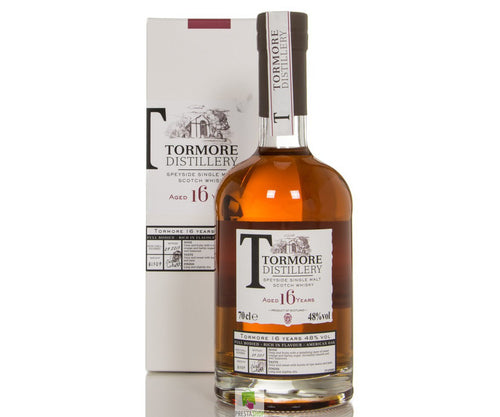 Tormore 16 years single malt speyside whisky