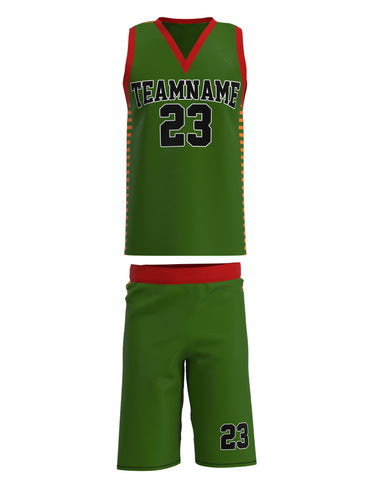 Customized Basketball Jersey Set 07