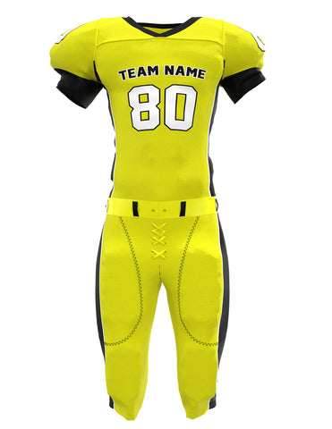 Customized American Football Jersey Set 01