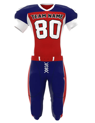 Customized American Football Jersey Set 02