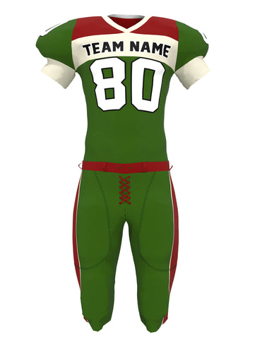 Customized American Football Jersey Set 04