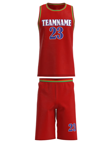 Customized Basketball Jersey Set 01