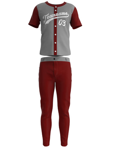 Customized Baseball Jersey Set 01