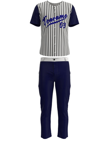 Customized Baseball Jersey Set 03