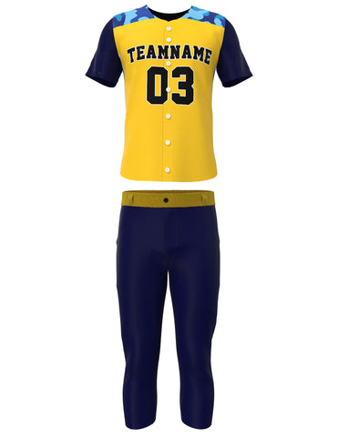 Customized Baseball Jersey Set 14