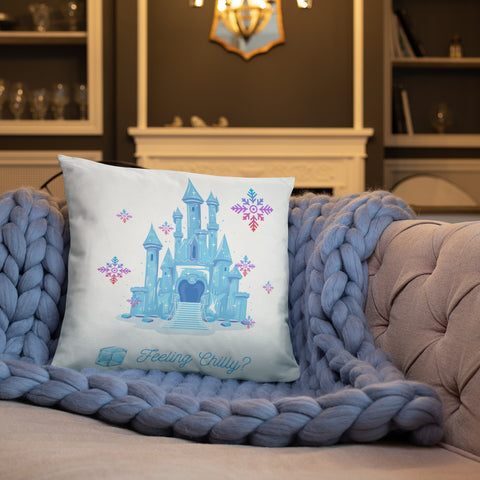 Ice Castle Cushion