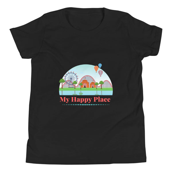 Happy Place Kid Short Sleeve T-Shirt
