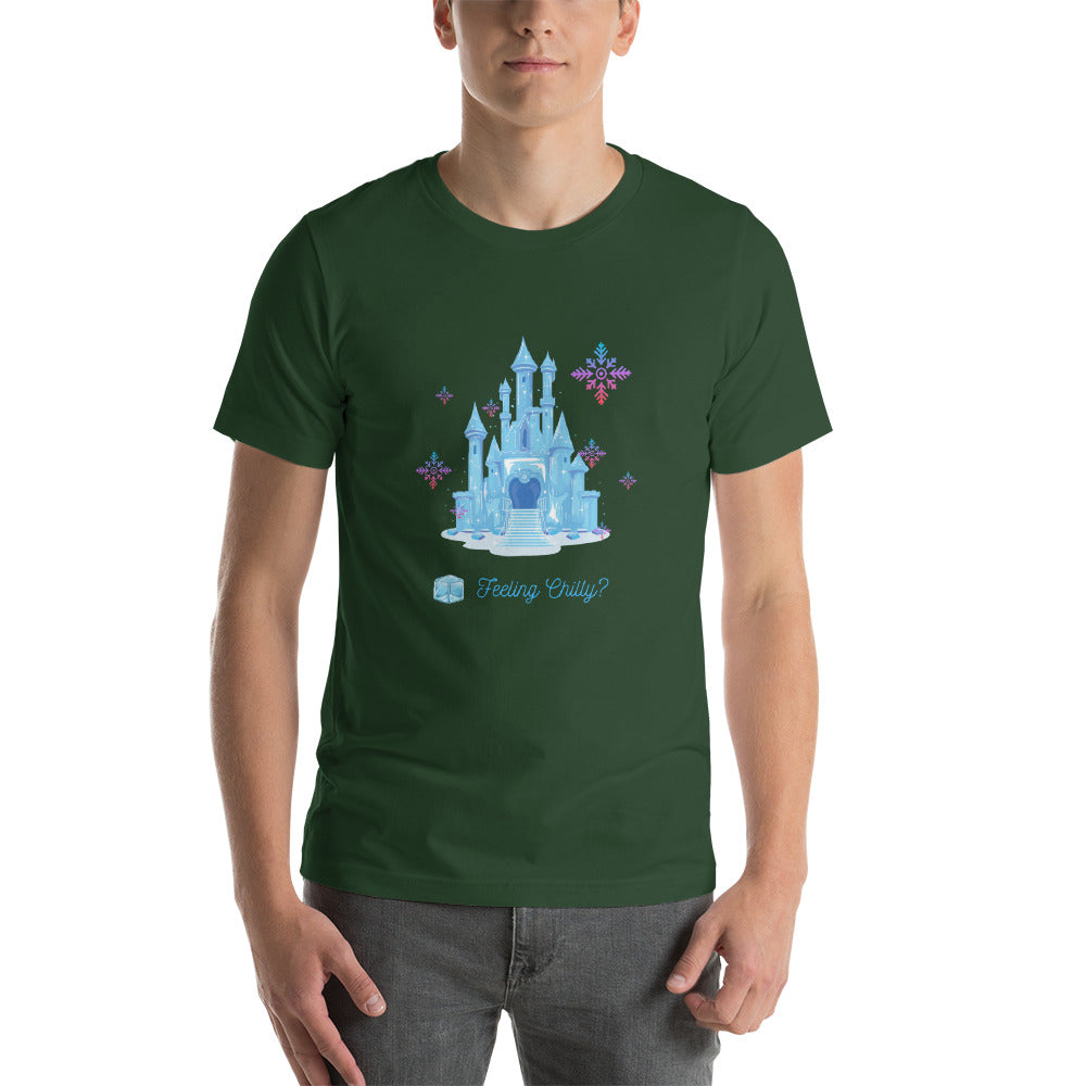 Ice Castle Color Adult T-Shirt