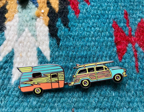 Road Trip pin set! (Collab with Billiter Studio!)