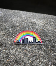 Load image into Gallery viewer, Cincy Pride Skyline Pin!