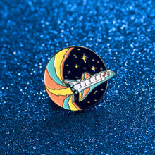 Load image into Gallery viewer, Adventure Club Space Shuttle Pin