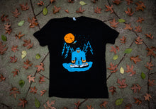 "Load image into Gallery viewer, ""Bigfoot Needs New Shoes"" T-shirt"