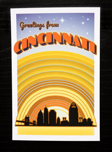 Postcard Set: Cincinnati