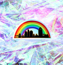 Load image into Gallery viewer, Cincy Pride Holographic Sticker