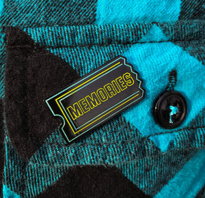 Memories enamel pin (glows in the dark!)