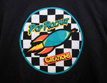 Load image into Gallery viewer, Pop Rocket Creations Checkered T-shirt!