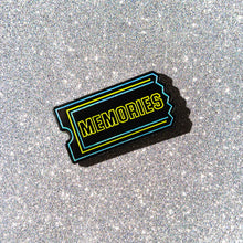 Load image into Gallery viewer, Memories enamel pin (glows in the dark!)