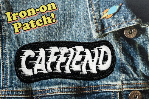 CAFFIEND Patch! (glow-in-the-dark)