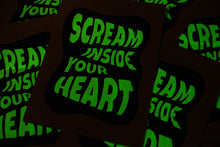 Load image into Gallery viewer, Scream Inside Your Heart – Art Print