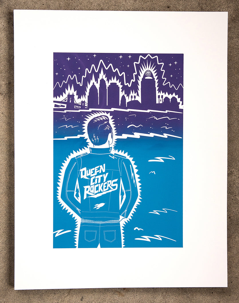 Queen City Rockers (Screenprint)