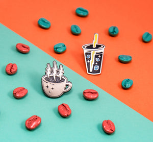 Electric Elixir Coffee Pin