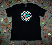 Load image into Gallery viewer, Pop Rocket Creations Checkered T-shirt