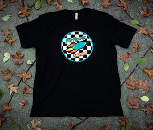 Pop Rocket Creations Checkered T-shirt