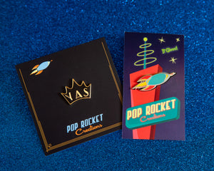 Seconds Sale - Pop Rocket pin or Yas pin