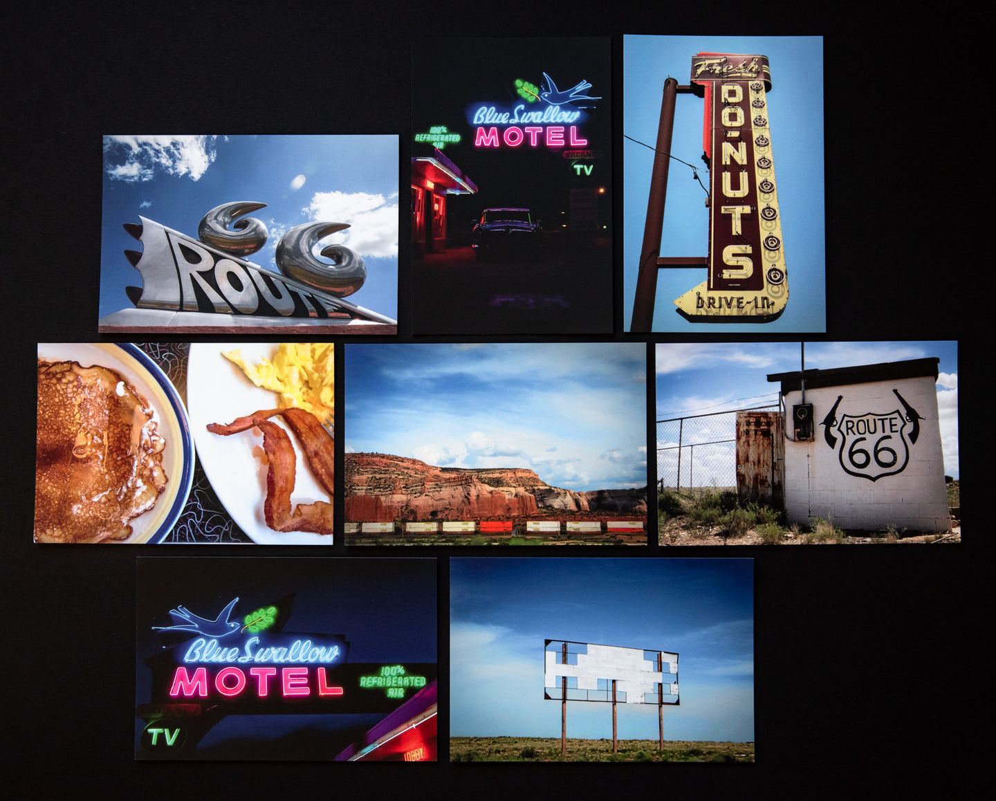 Postcard Set: Route 66