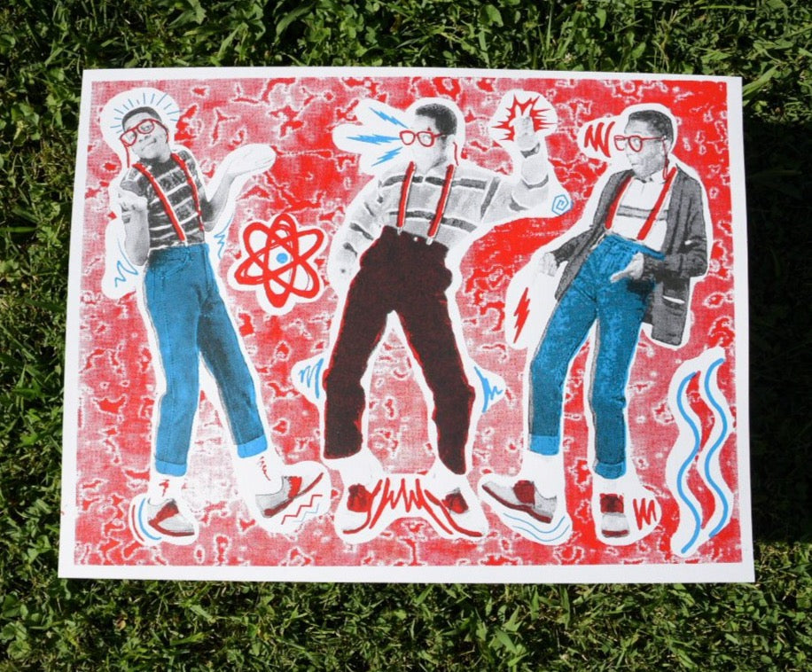 Urkel Time! Art Print