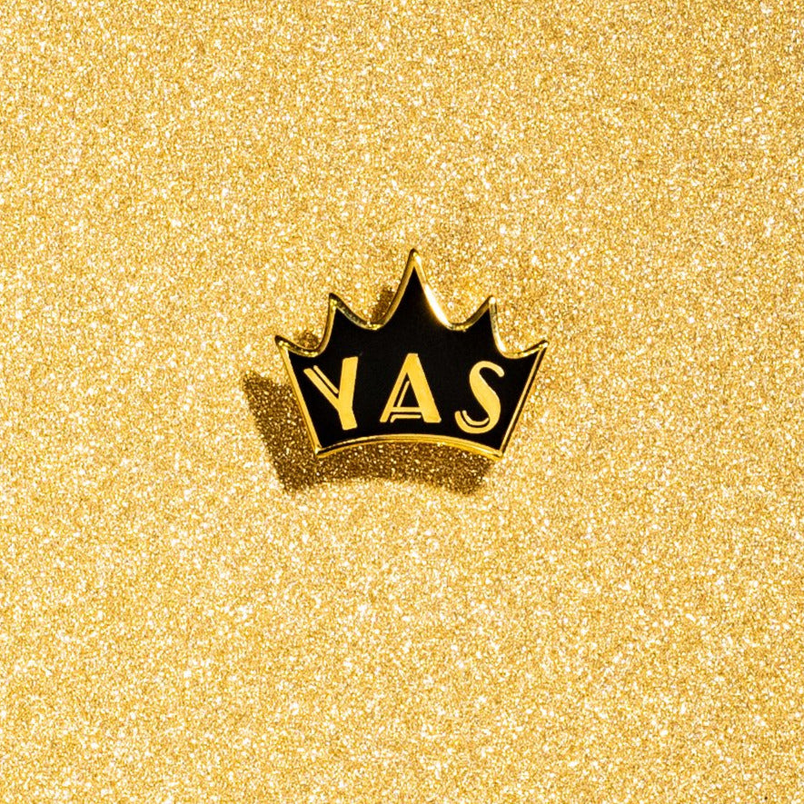 YAS Queen Crown Pin