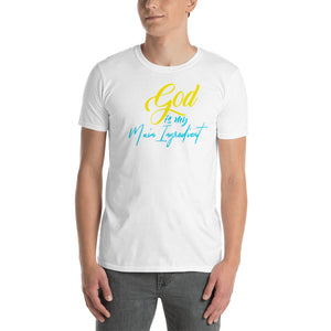 God Is The Main Ingredient Short-Sleeve T-Shirt