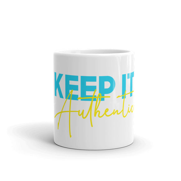 Keep It Authentic Coffee Mug