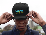 "'Keep It Authentic"" Snapback hat"