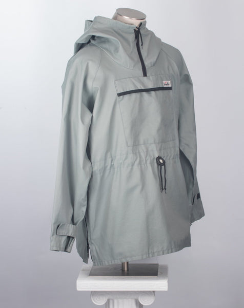 Vintage anorak parka green gray jacket