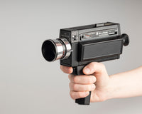 Bell and Howell 492 Super 8 movie camera