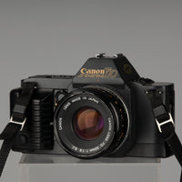 Canon T70 35mm SLR with 50mm f1.8 lens
