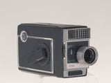 Kodak Automatic 8 8mm vintage movie camera angled view