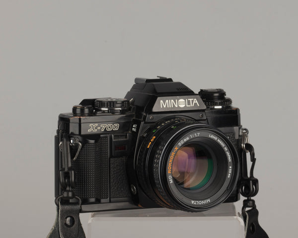 The Minolta X-700 is a classic 35mm film SLR