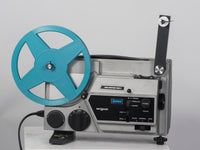 Argus Vari-Motion 892Z Dual Super 8 and 8mm shown with takeup reel