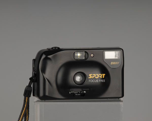 Sport Focus Free 35mm film camera with case