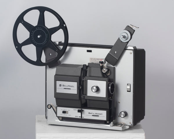 Bell and Howell 456Z Dual-format Super 8 and Regular 8mm movie projector