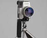 Canon Auto Zoom 814 Electronic Super 8 camera; front view